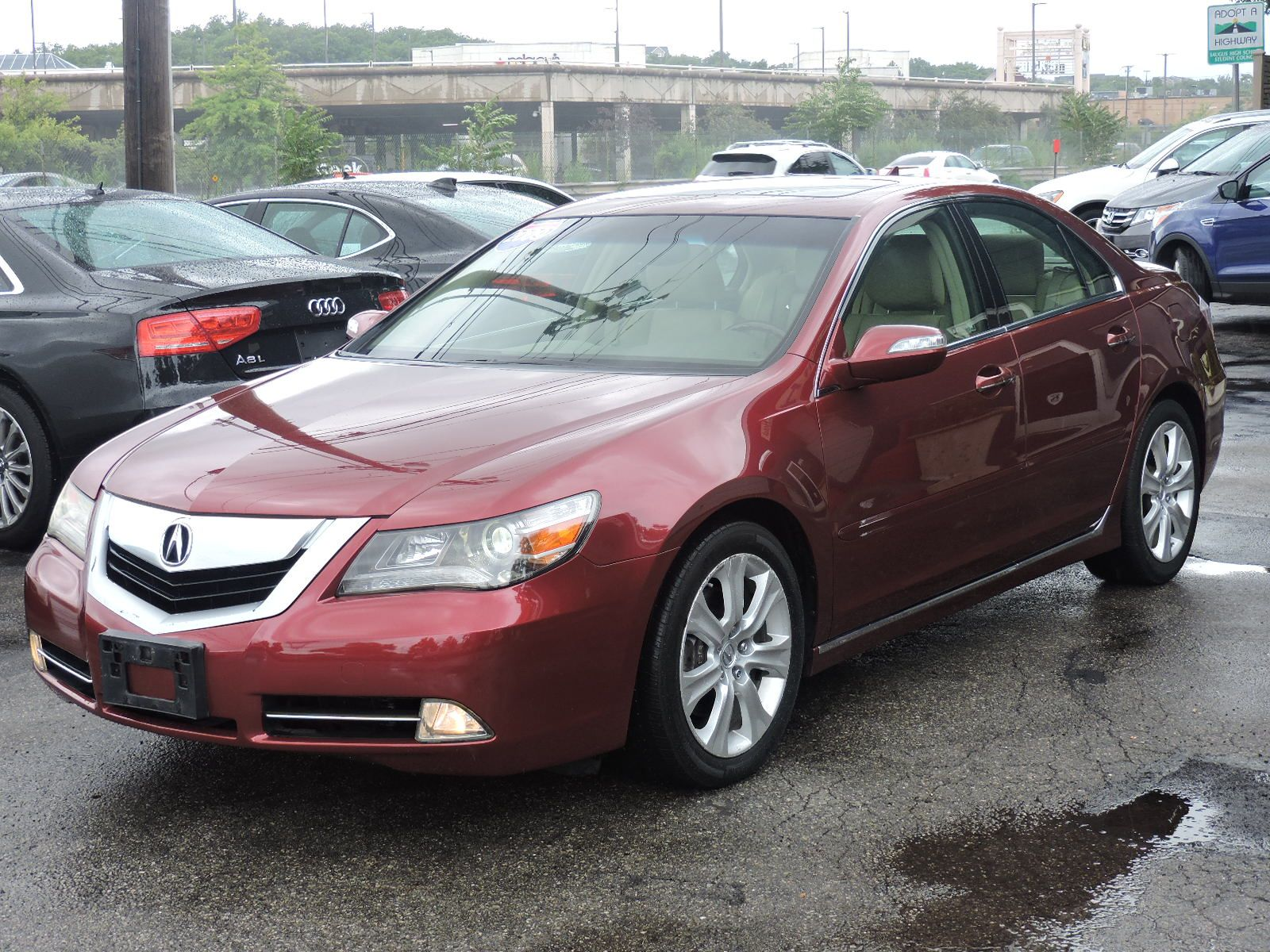 2009 Acura RL Technology Package AWD
