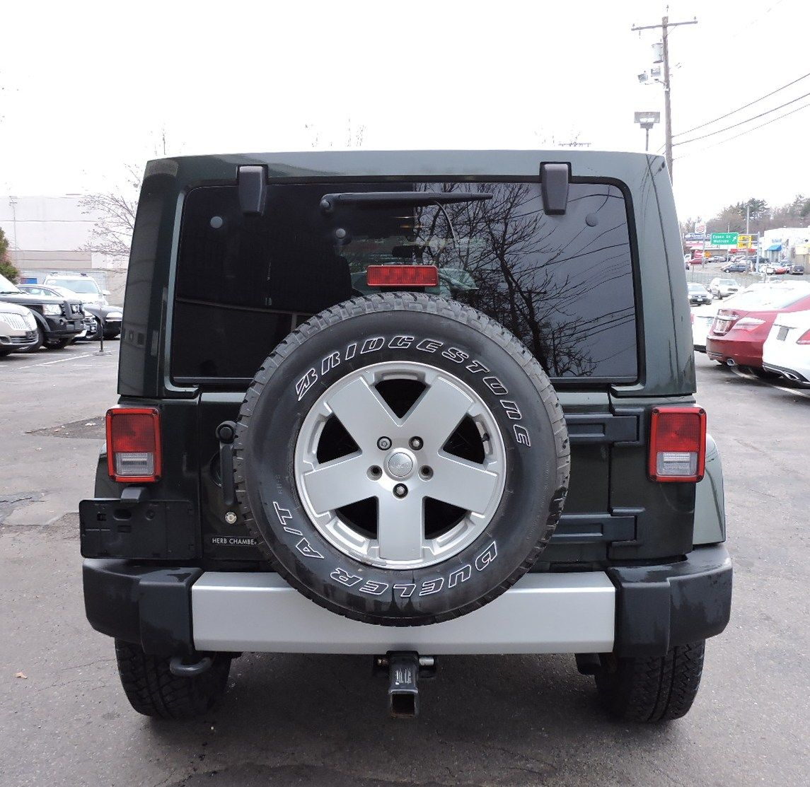 2011 Jeep Wrangler Unlimited Sahara AWD