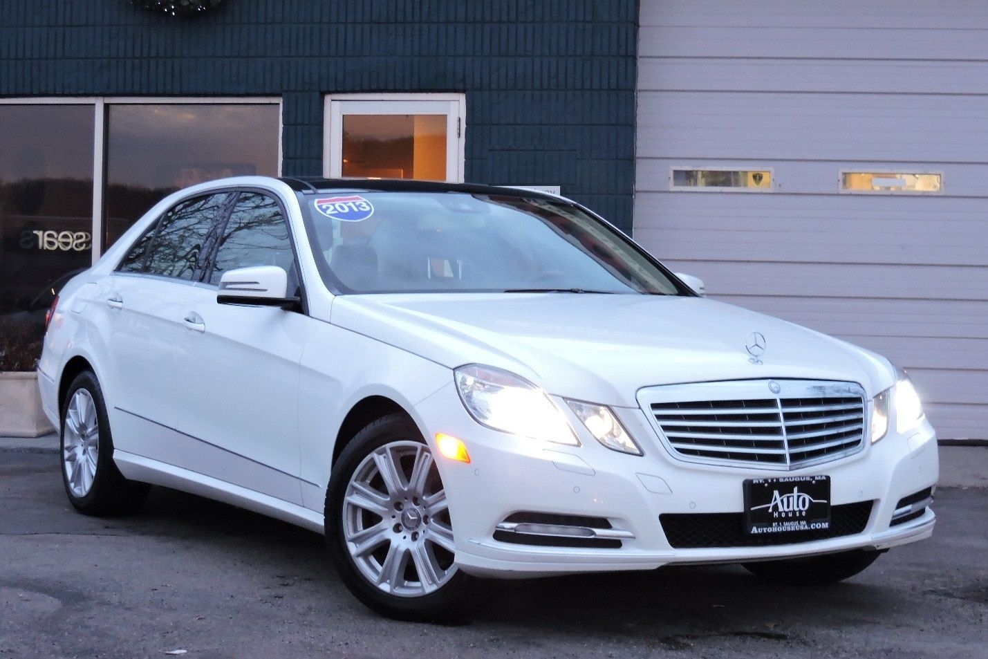 2013 Mercedes-Benz E 350 Luxury 4MATIC AWD