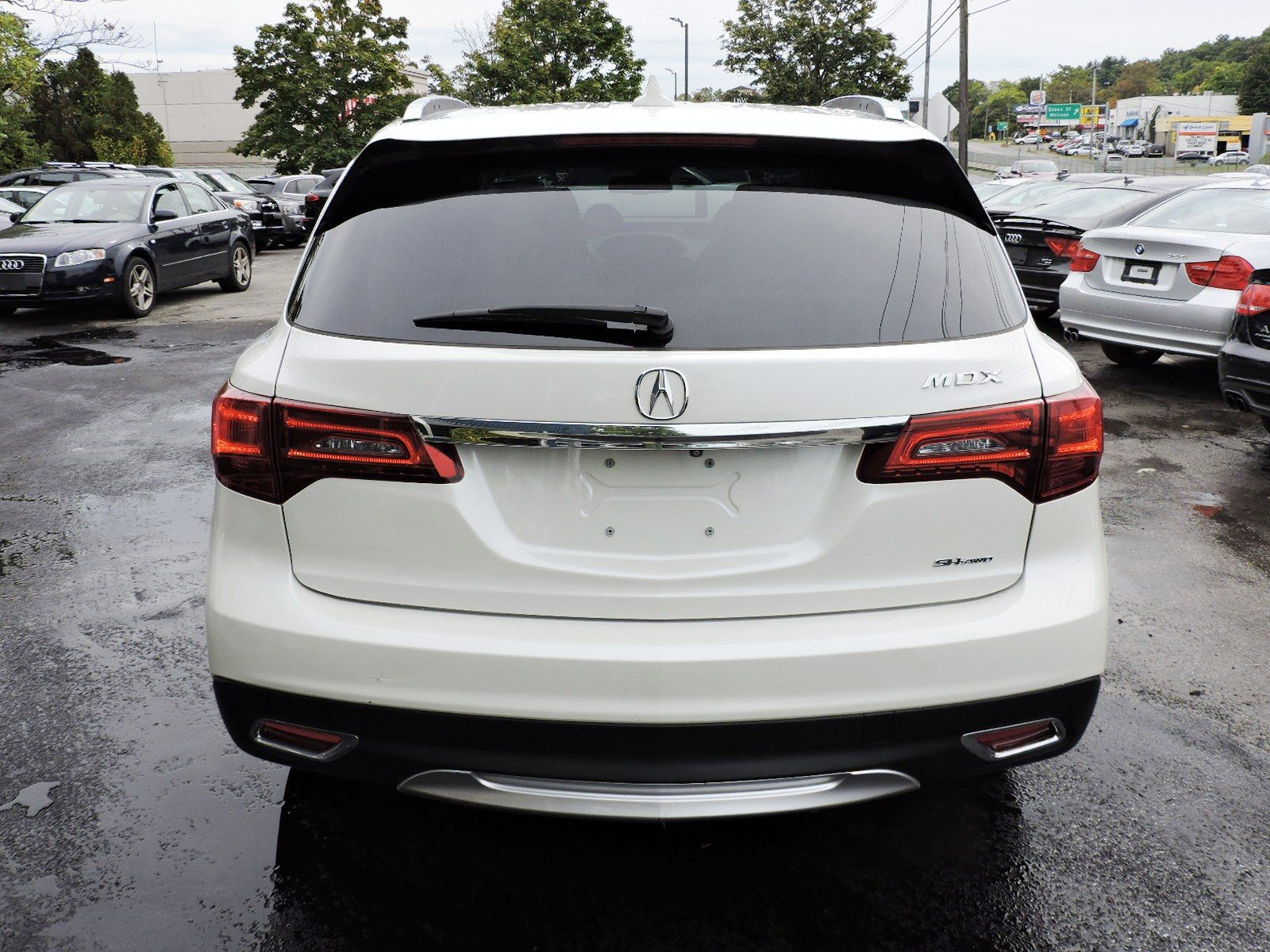2014 Acura MDX SH Technology Package AWD
