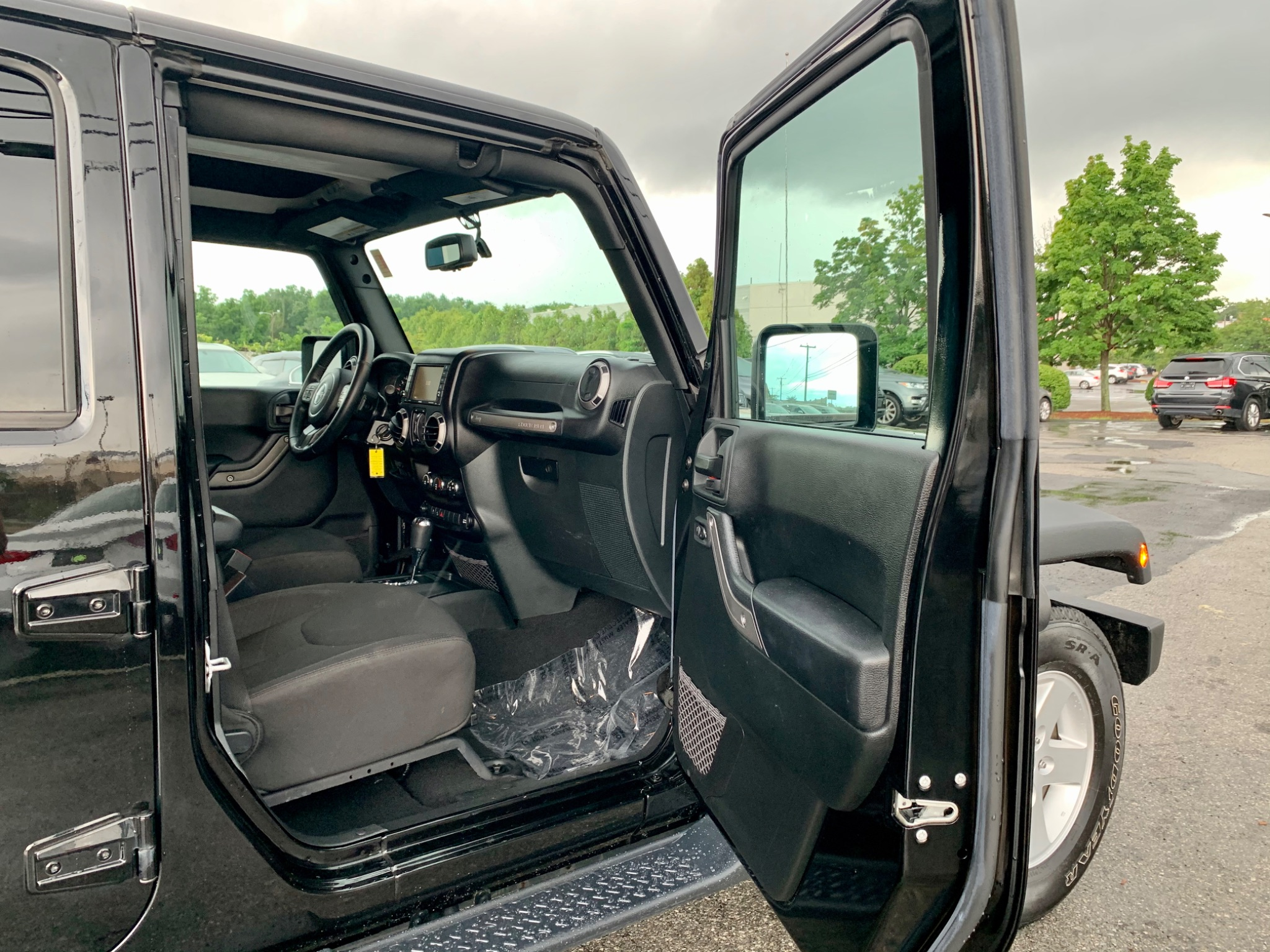 2017 Jeep Wrangler Unlimited Sport RHD 4WD