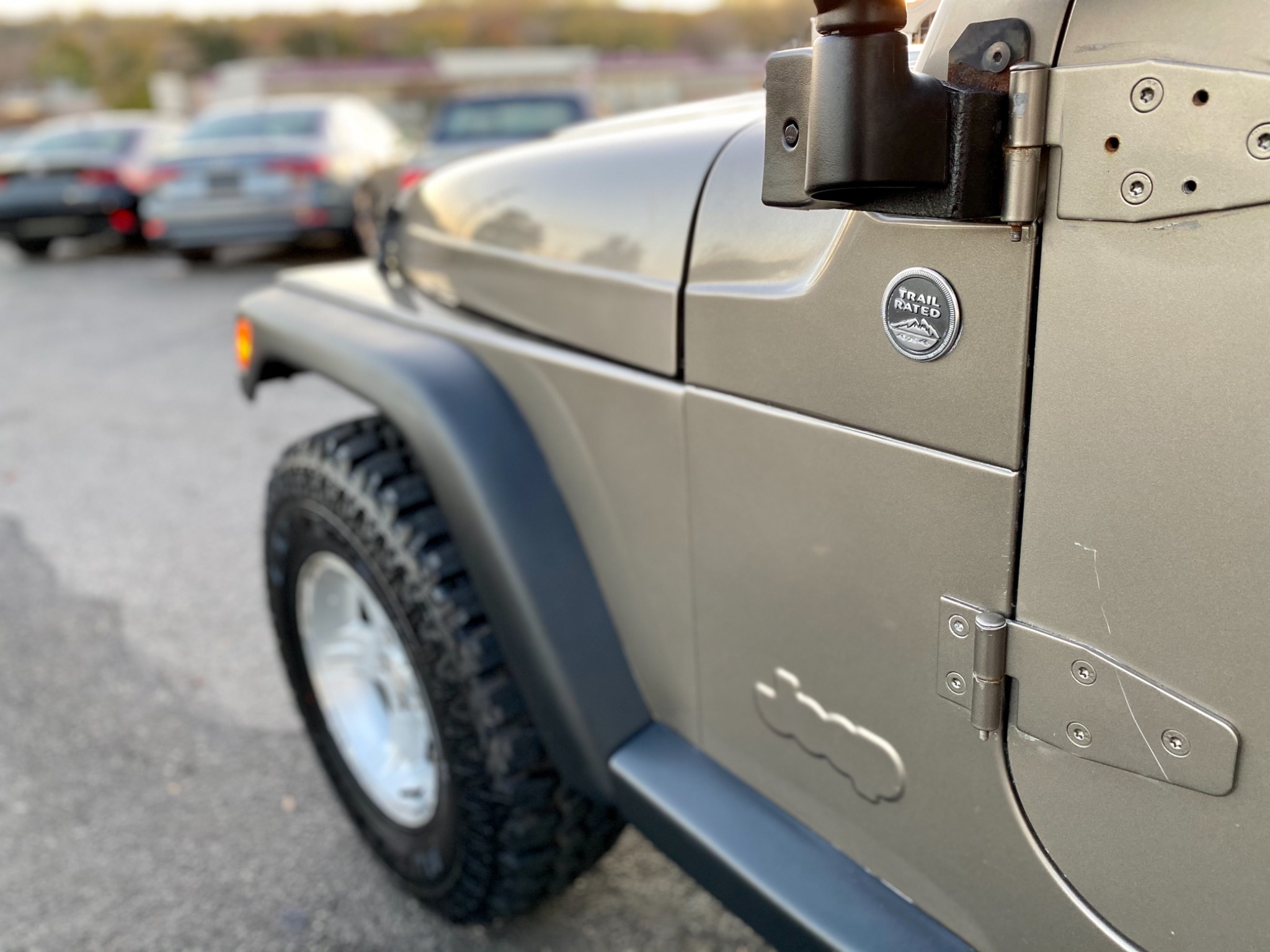 2006 Jeep Wrangler Hard & Soft Top