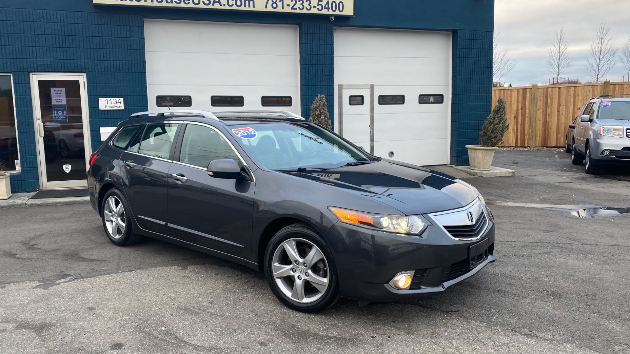 Used 2012 Acura Tsx Sport Wagon Tech Pkg At Saugus Auto Mall