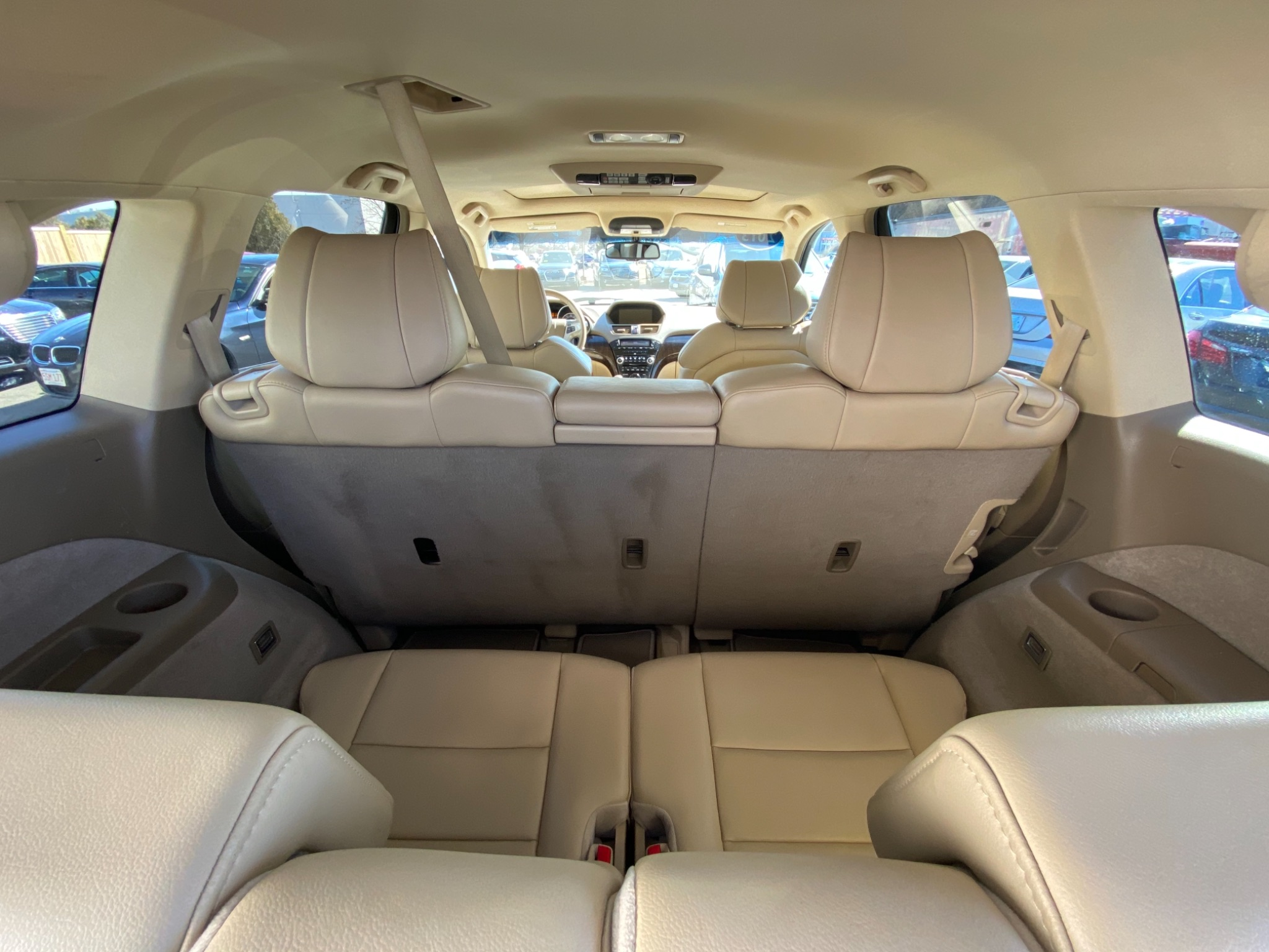 2013 Acura MDX Technology and Entertainment Pa